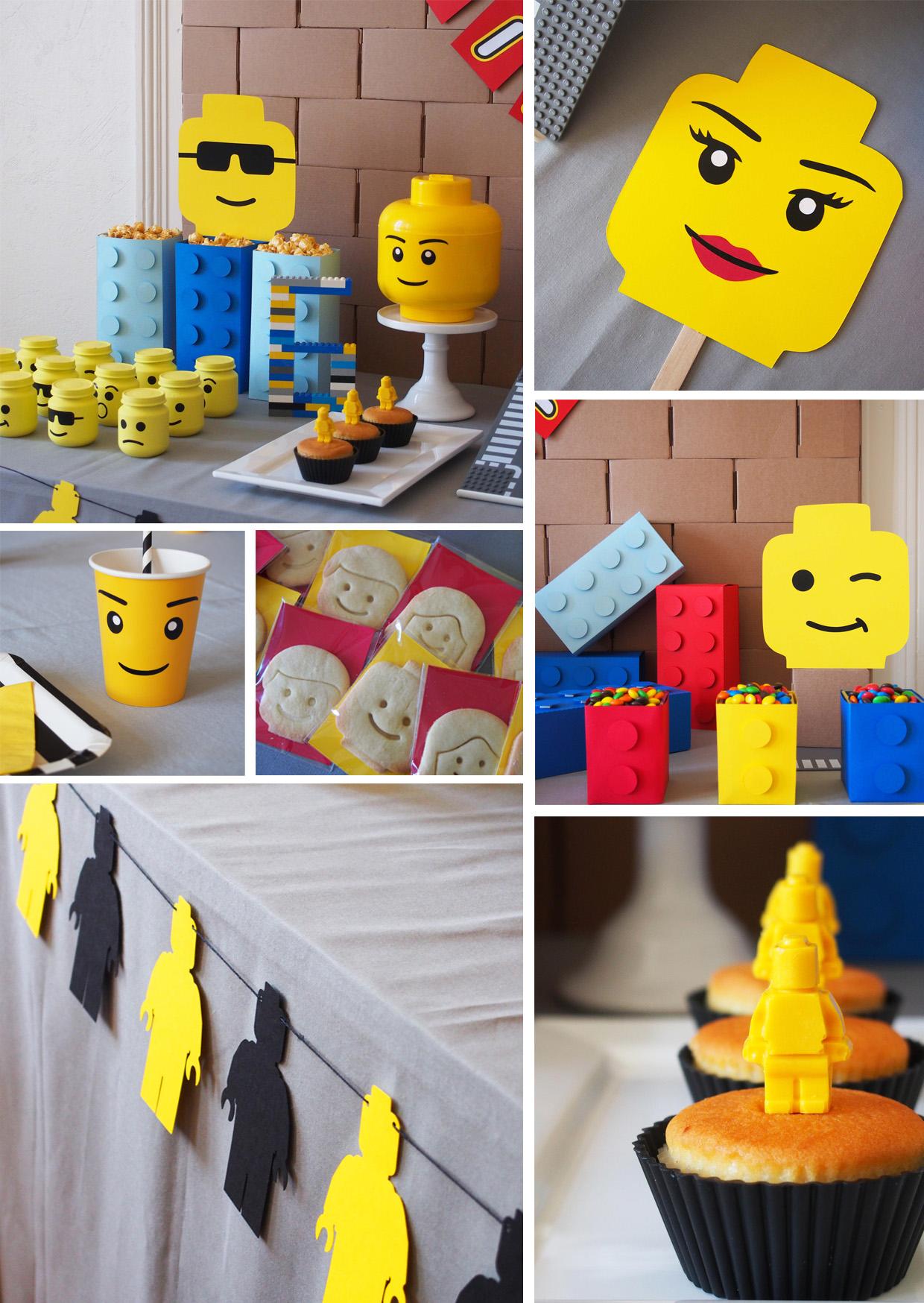 Lego Party Rose Caramelle Carnet Dinspiration