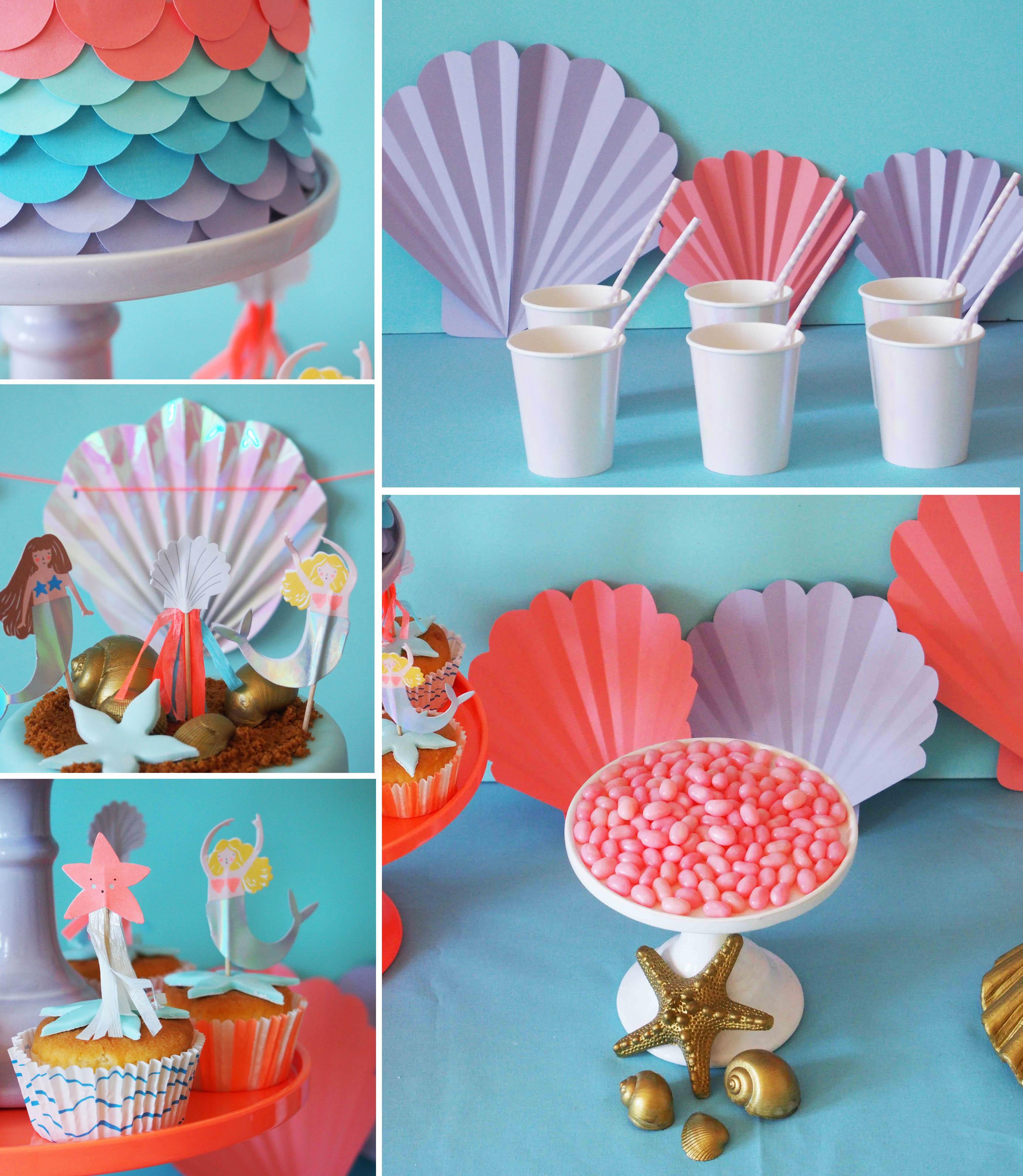 Lets Be Mermaids Rose Caramelle Carnet Dinspiration