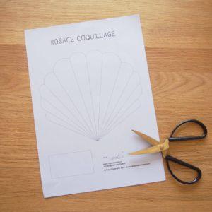 tutoriel coquillage en papier
