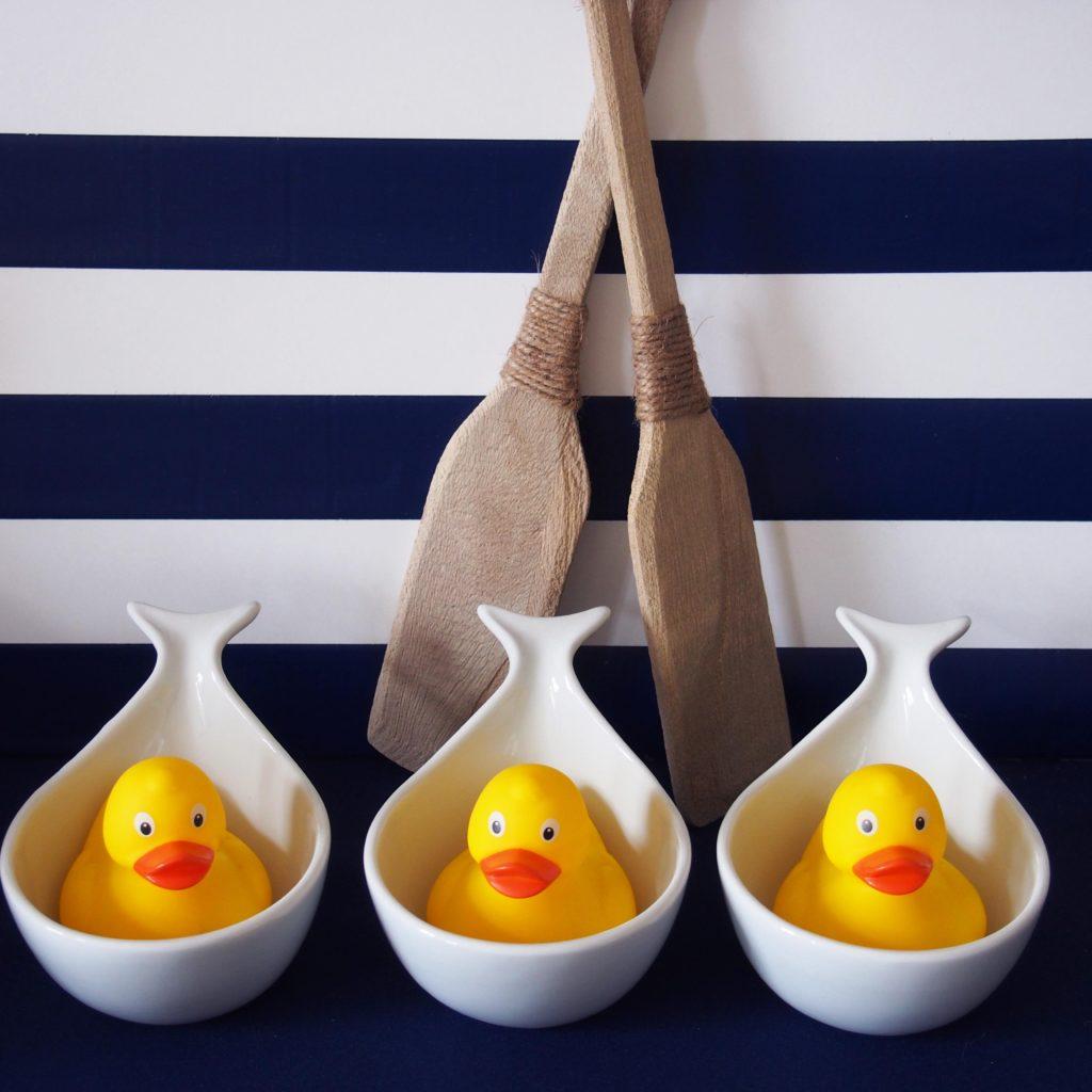 anniversaire décoration marine jaune