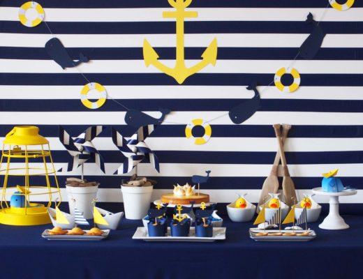anniversaire thème baleine