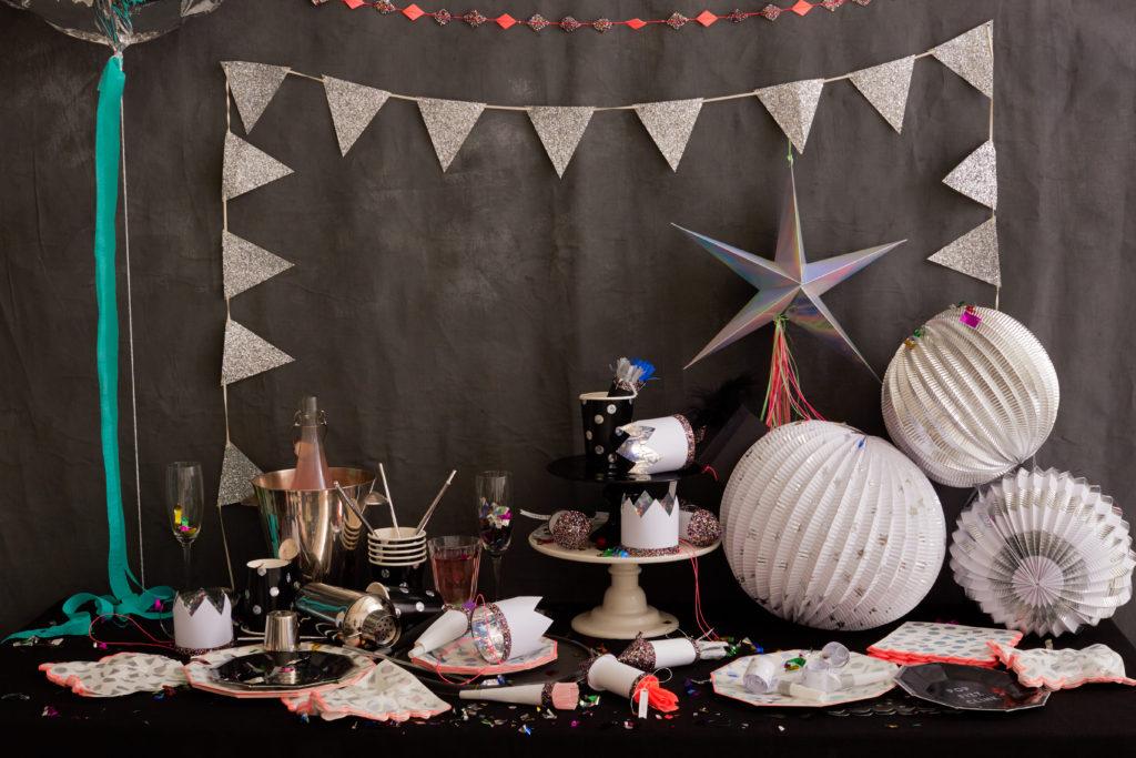 décoration fête holograhique