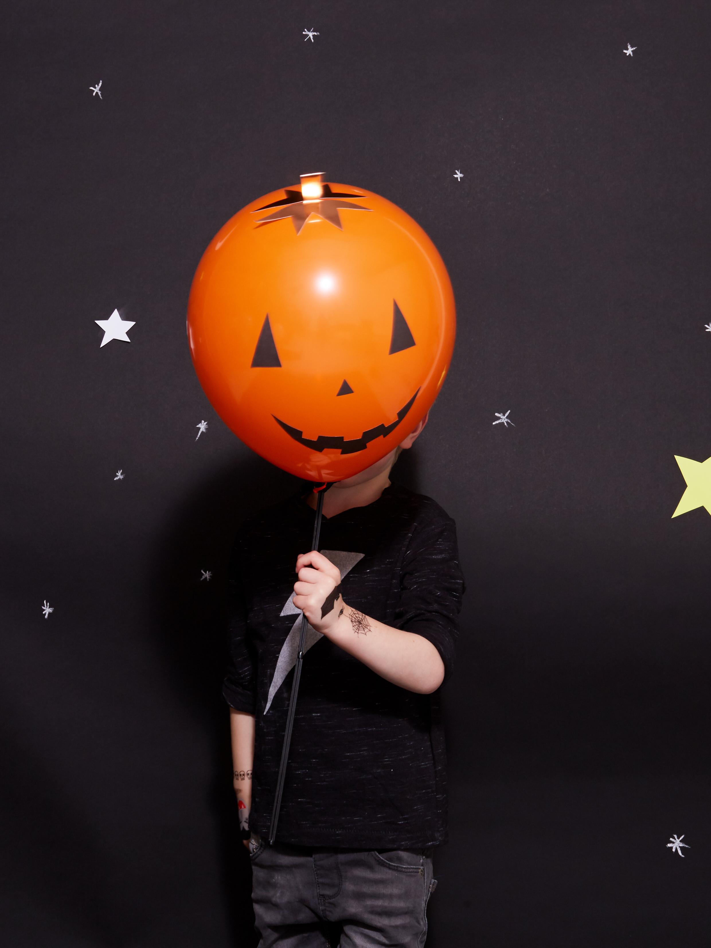 halloween ballon citrouille