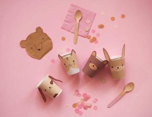 anniversaire-gobelets-animaux