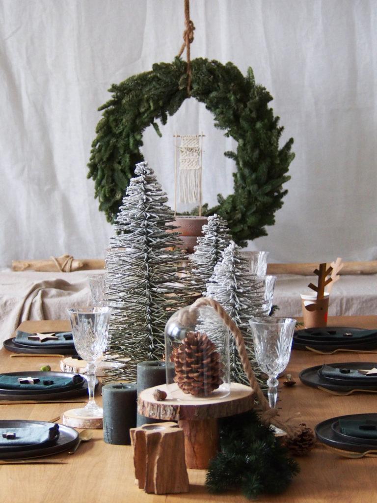 Noël décoration green