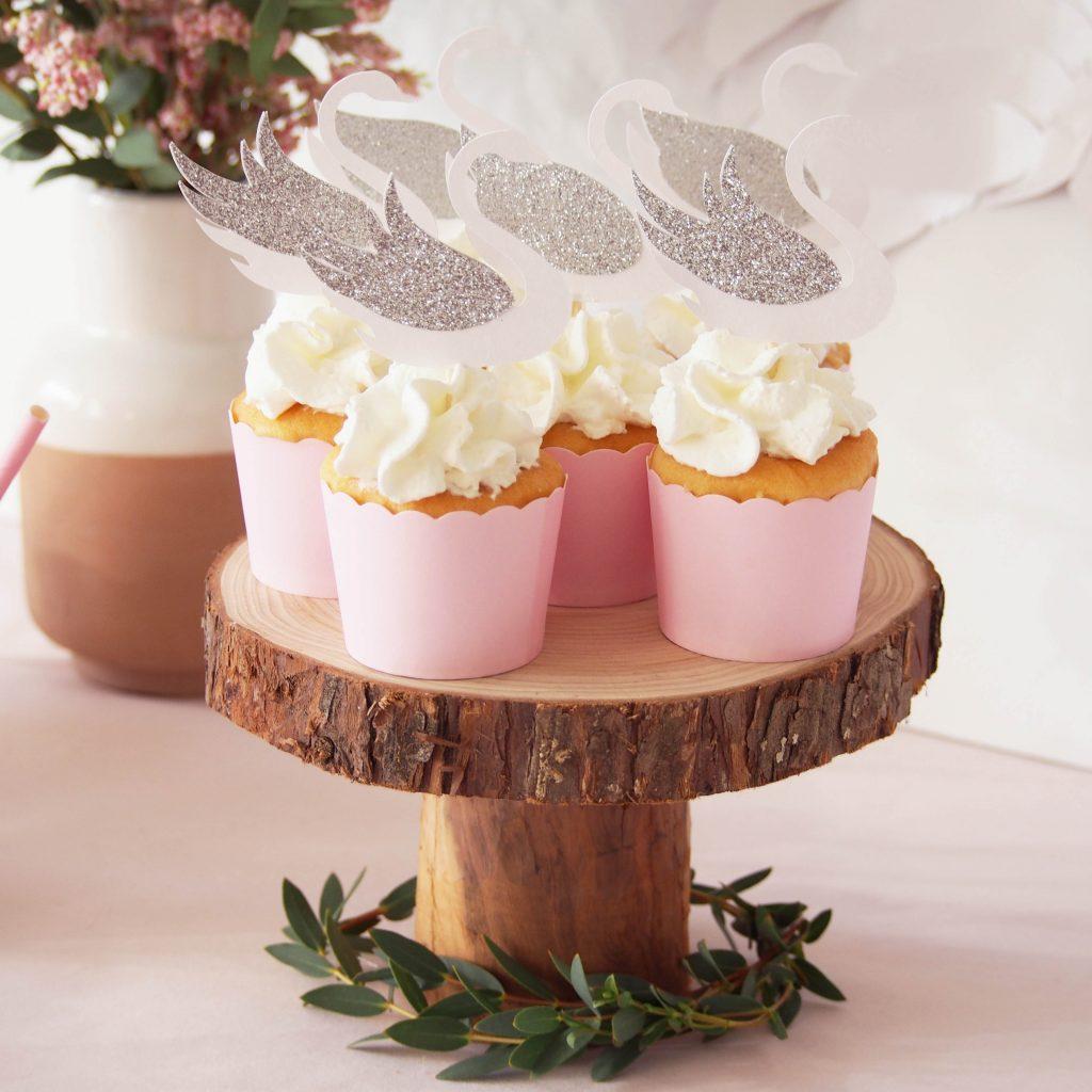 cupcakes cygne