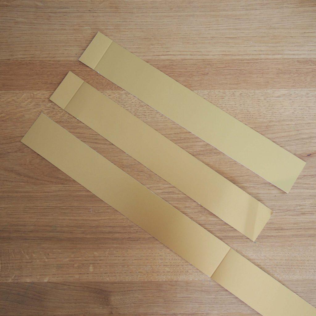 bandes papier couronne