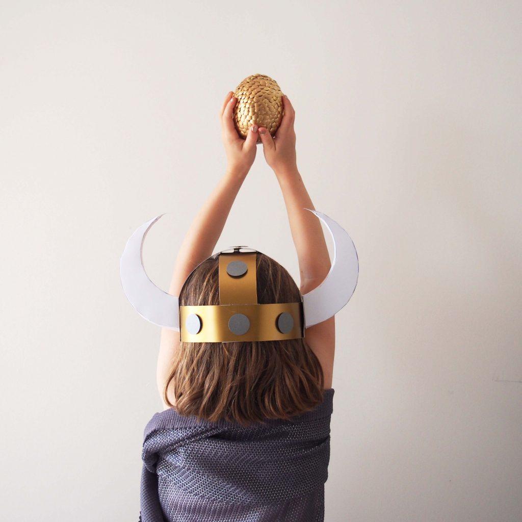 casque viking déguisement