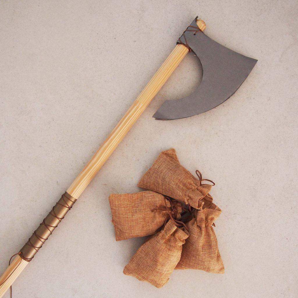 hache viking tuto