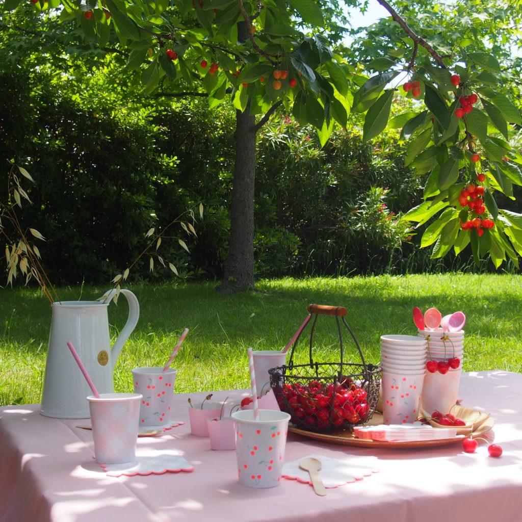 anniversaire thème fruits