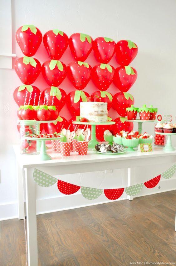 ballons fraises tuto