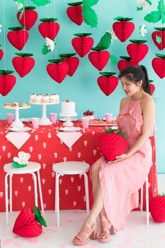 fraises alvéolées tuto