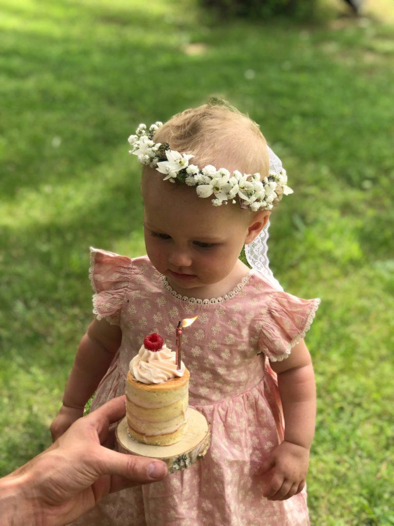 premier anniversaire fille