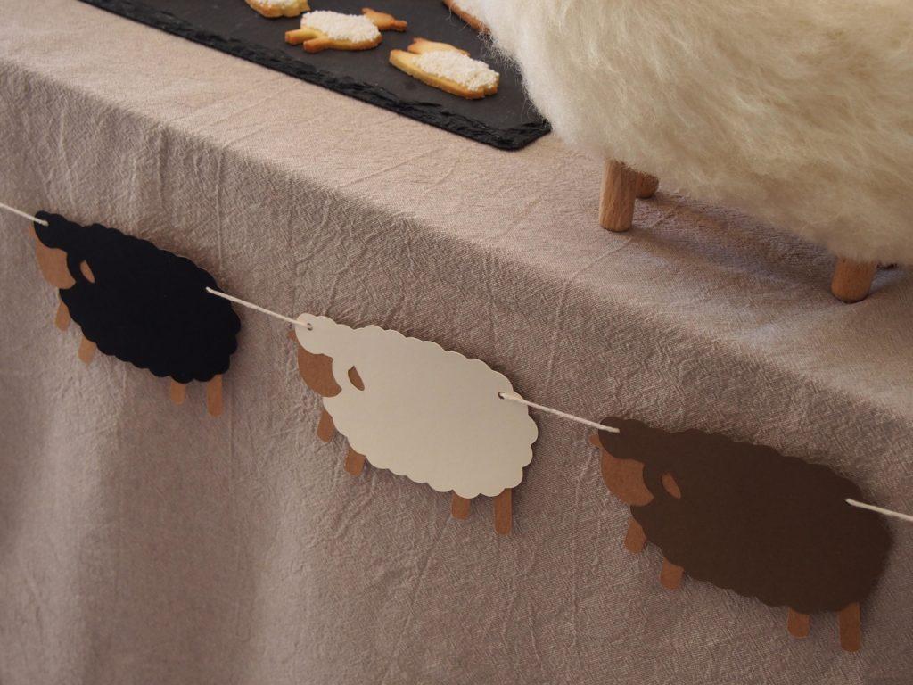 guirlande mouton