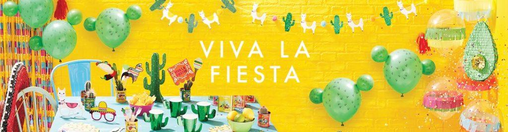 anniversaire thème mexicain