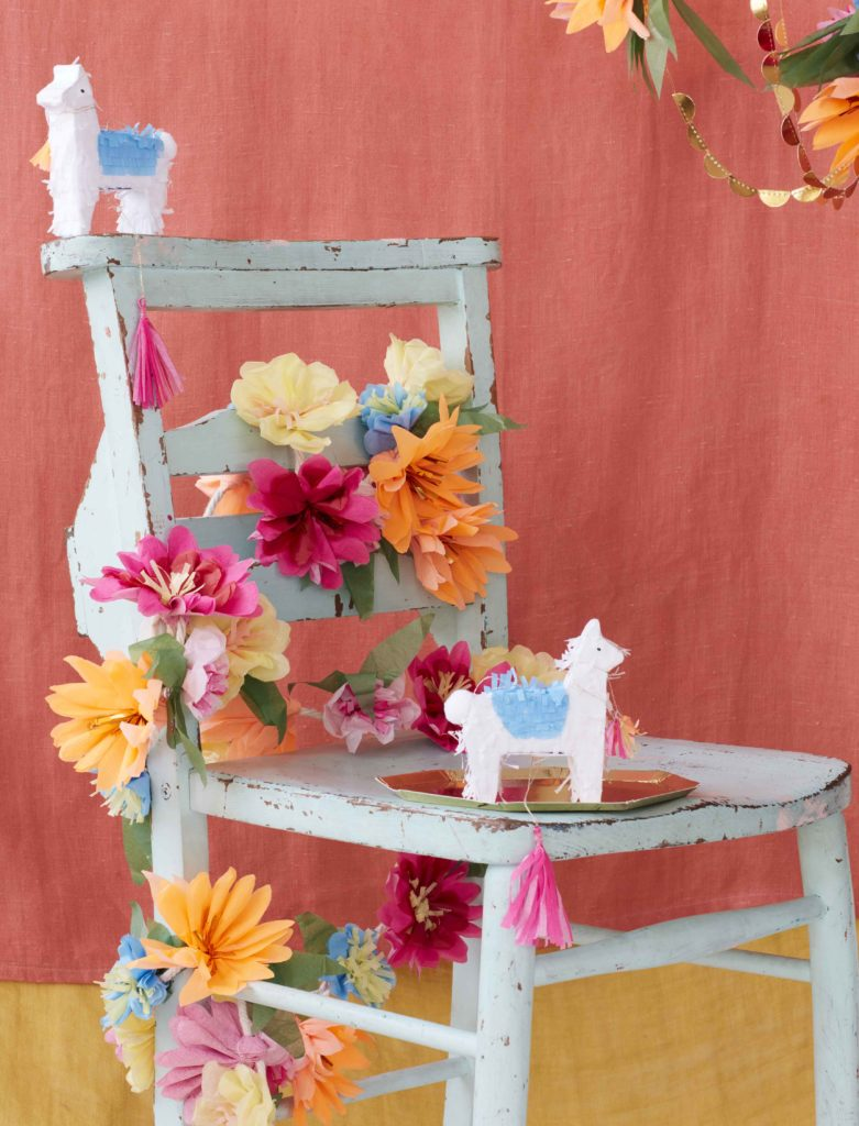 guirlande fleurs mexicaine