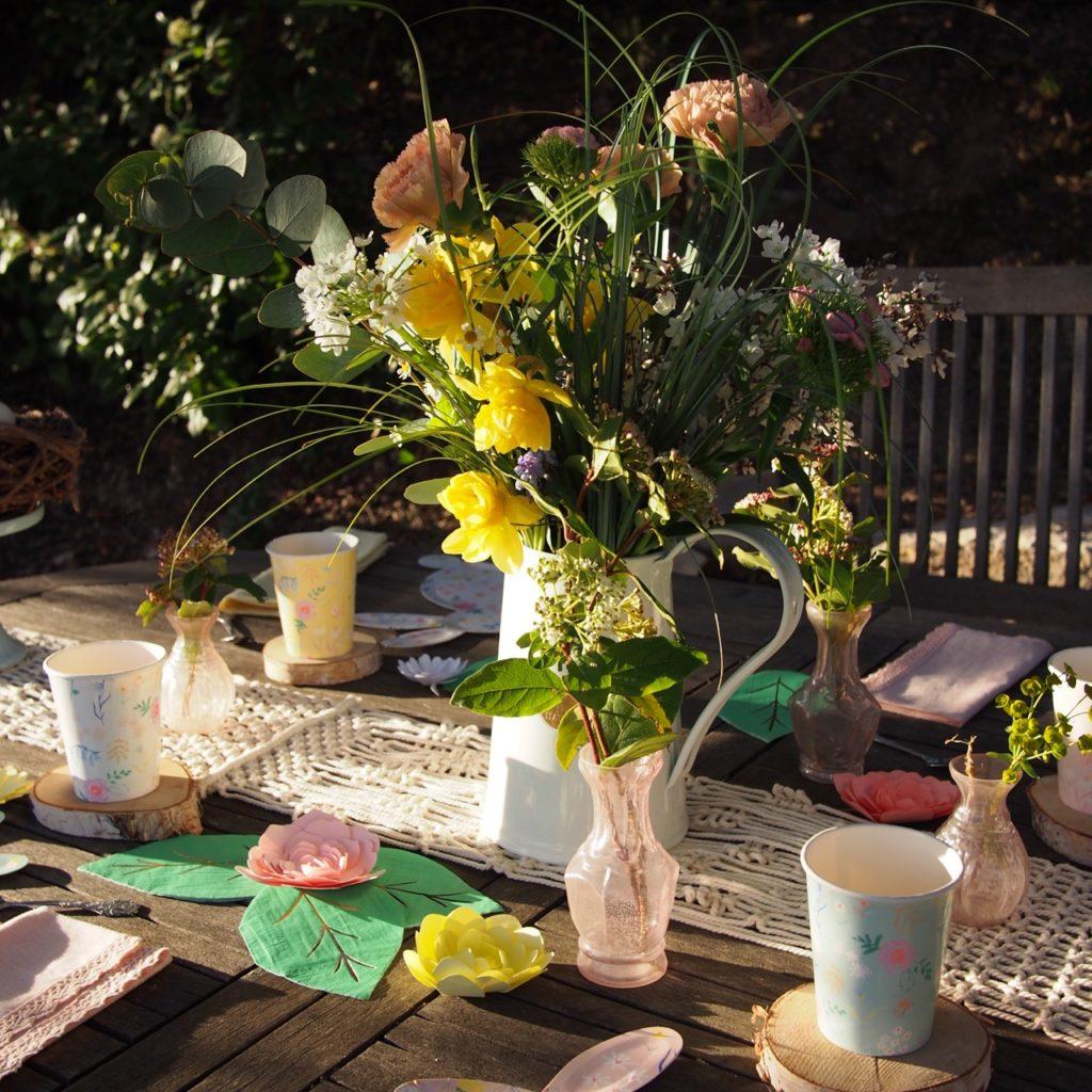centre de table printemps