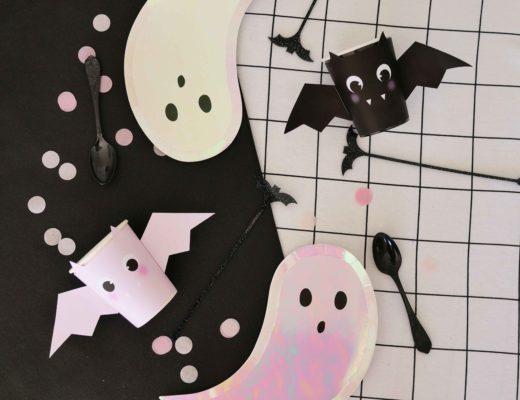 gobelets chauve souris halloween