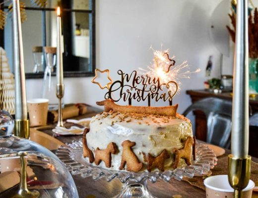 gâteau de Noël chien