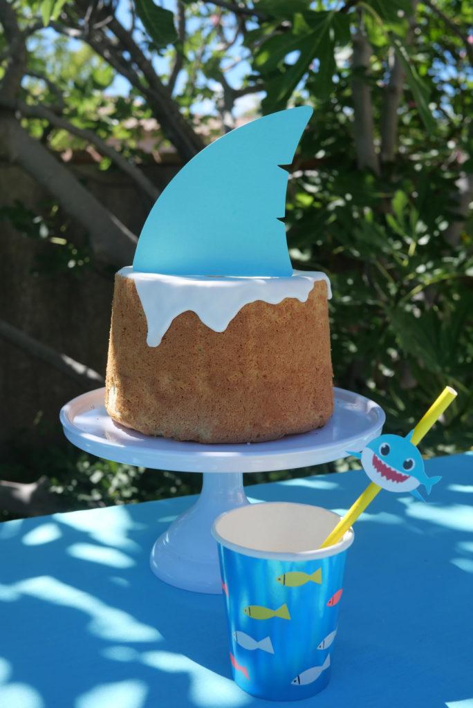 gâteau anniversaire thème requin
