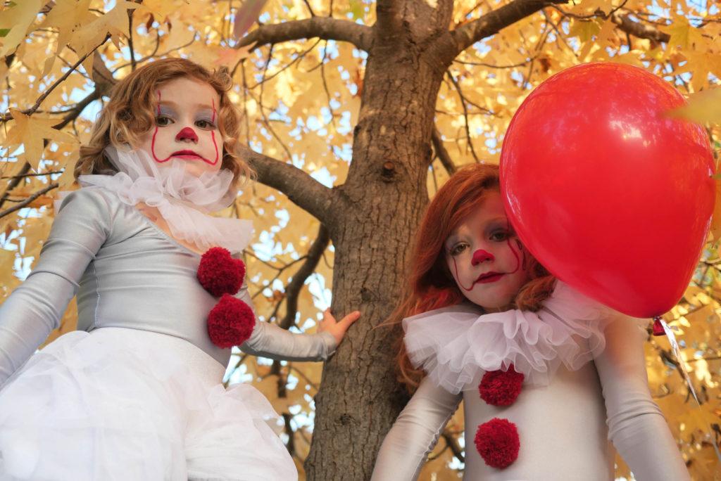 halloween déguisement clown ça