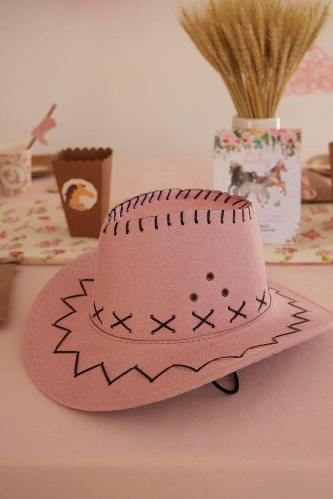 chapeau cowboy fille