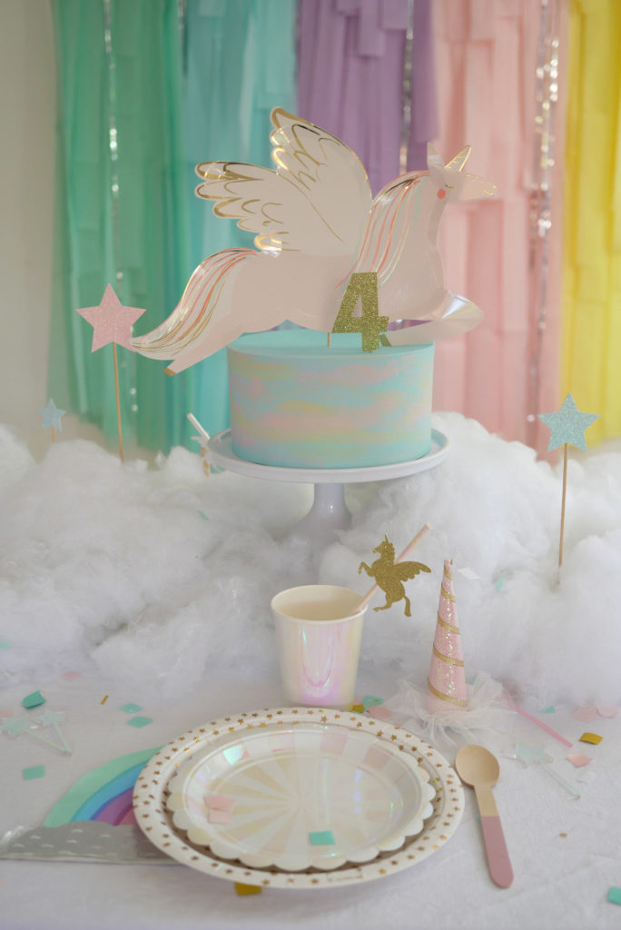 anniversaire gâteau licorne